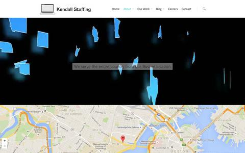 Screenshot of Locations Page kendallstaffing.com - Locations - Kendall Staffing - captured Feb. 14, 2016