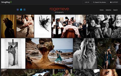 Screenshot of Home Page rogerneve.com - rogerneve - captured Oct. 20, 2018