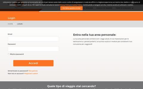 Screenshot of Login Page cartorange.com - Login | CartOrange - captured Oct. 3, 2016