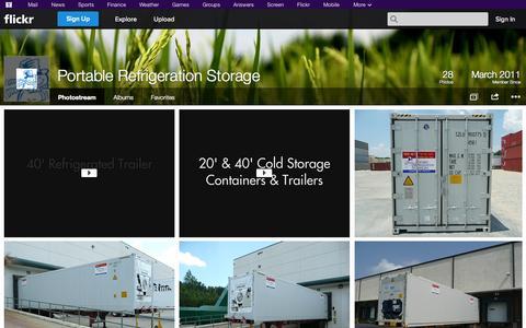 Screenshot of Flickr Page flickr.com - Flickr: Portable Refrigeration Storage's Photostream - captured Oct. 23, 2014