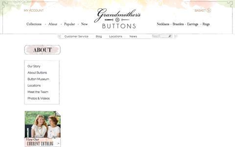 Screenshot of Testimonials Page grandmothersbuttons.com - Testimonials - Grandmother's Buttons - captured July 23, 2018
