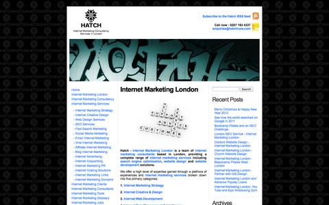 Screenshot of About Page internet-marketing-london.com - Internet Marketing London - Internet Marketing Consultancy   » Internet Marketing London - captured Oct. 2, 2014