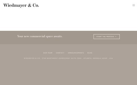 Screenshot of Blog wiedmayer.com - Blog — Weidmayer & Co - captured Dec. 10, 2016