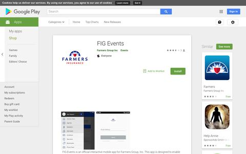 FIG Events - Apps on Google Play