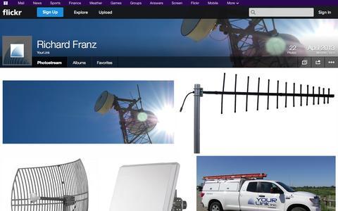 Screenshot of Flickr Page flickr.com - Flickr: YourLink's Photostream - captured Oct. 27, 2014