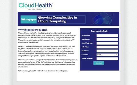 Growing Complexities in Cloud Computing