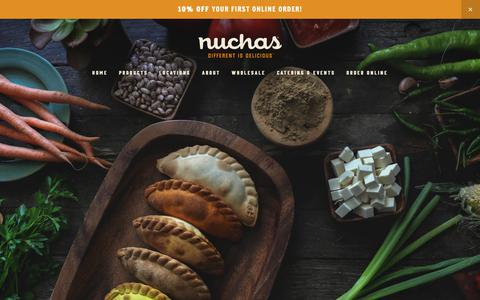 Screenshot of Terms Page nuchas.com - Legal — Nuchas - captured Feb. 23, 2019