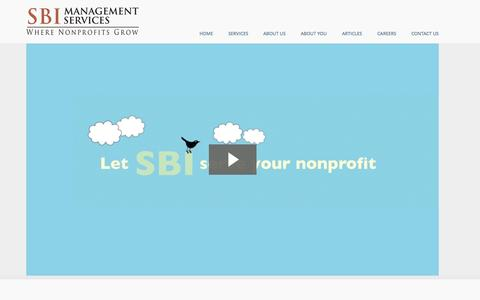 Screenshot of About Page sbims.com - About Us | SBI Management Services - captured Oct. 3, 2014