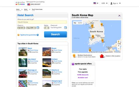 South Korea Hotels - Online hotel reservations for Hotels in South Korea