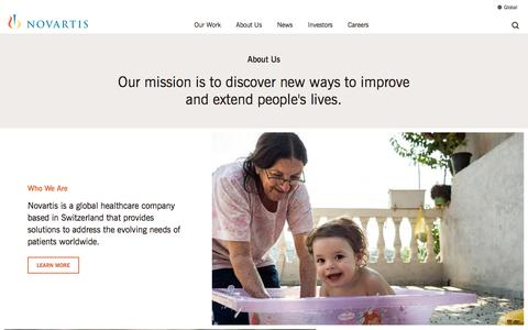 About Us | Novartis