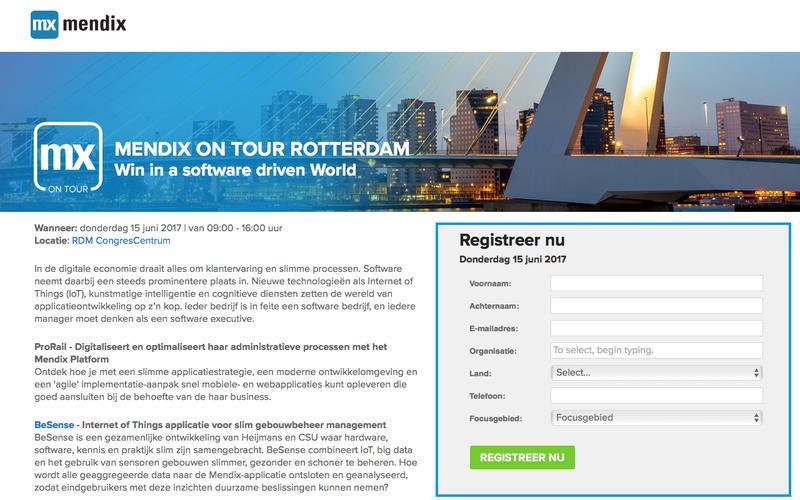 Mendix on Tour - Rotterdam