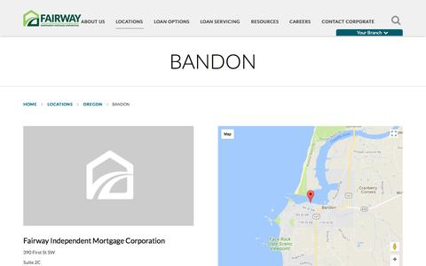 Bandon | Fairway Independent Mortgage Corporation