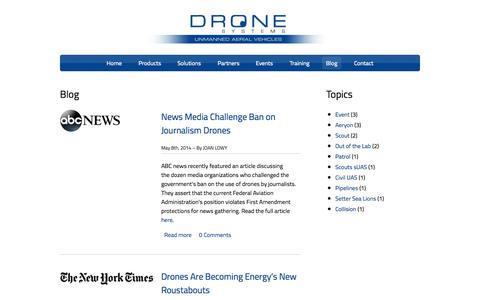 Blog | Drone Systems
