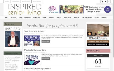 INSPIRED Senior Living Magazine