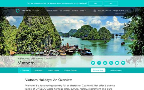 Luxury Holidays Vietnam | Fascinating & Full of Character