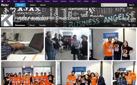 Screenshot of Flickr Page flickr.com - Flickr: kubide.es' Photostream - captured Oct. 25, 2014