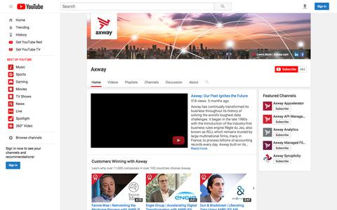 Axway  - YouTube