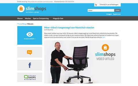 Screenshot of Press Page slimshops.nl - Blog - Nieuws - captured Dec. 5, 2016