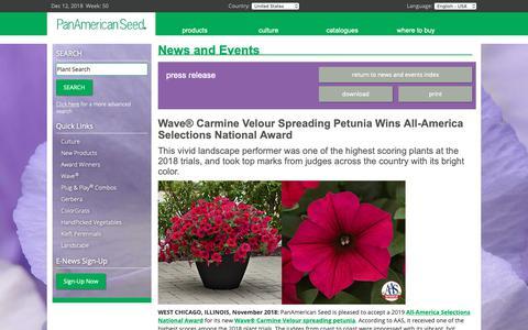 Screenshot of Press Page panamseed.com captured Dec. 12, 2018