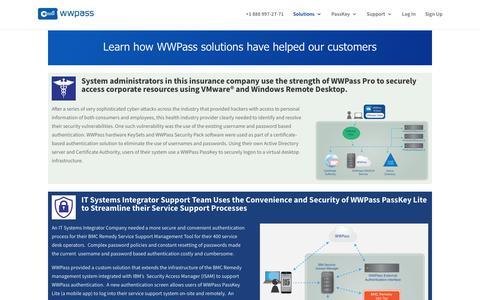 Use Case Summary Page - WWPass Corporation