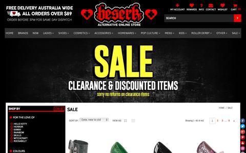 CLEARANCE – Beserk