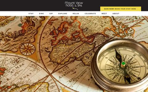 Screenshot of Maps & Directions Page mountviewhotel.com - Directions - Mount View Hotel and Spa - captured Oct. 20, 2018