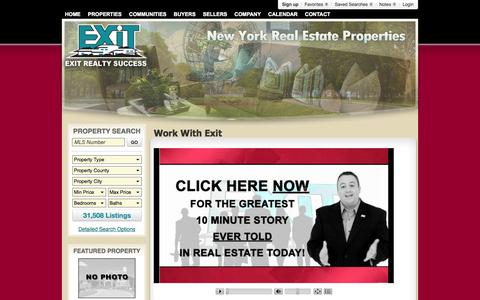 Screenshot of Jobs Page exitrealtysuccess.com - Work With Exit - captured Sept. 30, 2014