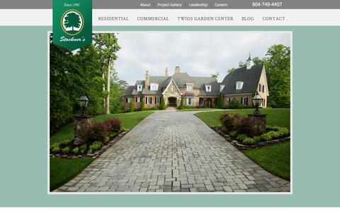 Screenshot of Team Page stockners.com - Leadership | Stockner's in Richmond, Virginia - captured Sept. 30, 2014