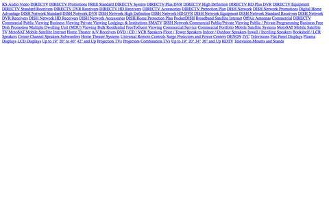 Screenshot of Site Map Page ksaudiovideo.com captured Sept. 30, 2014