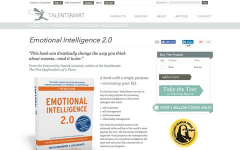 Emotional Intelligence 2.0 | #1 Selling Emotional Intelligence Book