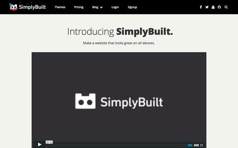 SimplyBuilt: Domains, DIY Website Builder, and Hosting all in one place. | How to create a website