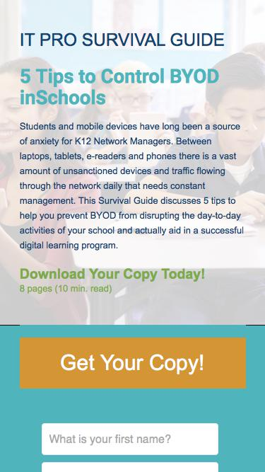 5 Tips to Control BYOD in Schools | Exinda