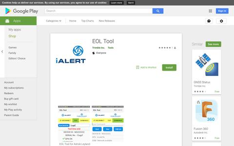 EOL Tool - Apps on Google Play
