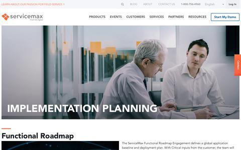 ServiceMax Implementation Planning - Partner Services