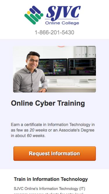 Train to Become an Cyber