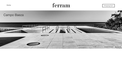 Screenshot of Home Page ferramdesign.es - ferram – Industrias ferram - captured Aug. 10, 2018