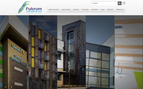 Screenshot of Case Studies Page fulcrumgroup.co.uk - Case Studies | Fulcrum Group - captured Oct. 5, 2014