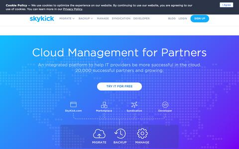 SkyKick - Cloud Management for Partners