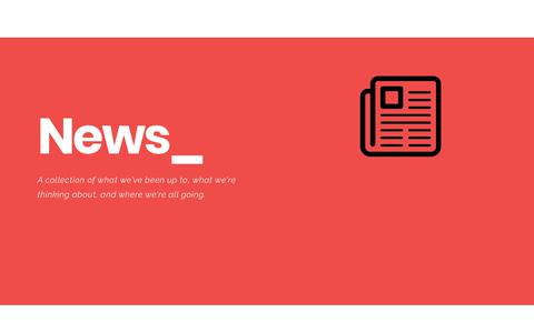 Screenshot of Press Page irismediaworks.com - News - Iris MediaWorks - captured Sept. 20, 2018