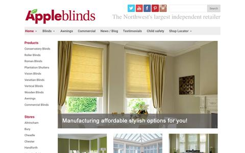 Home Page, Apple Blinds - The Northwest's largest independent retailer