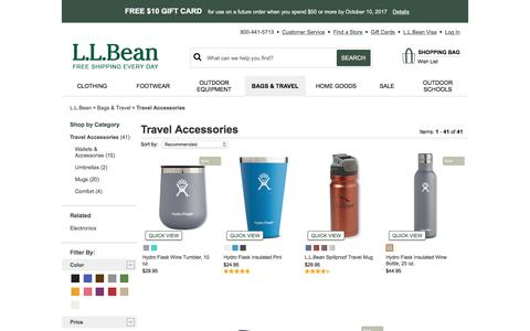 Travel Accessories and Travel Gear | Free Shipping at L.L.Bean