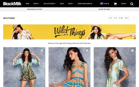 Wild Things – Black Milk Clothing