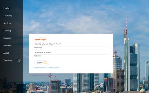 Screenshot of Support Page riverbed.com - Overview - captured Dec. 4, 2015