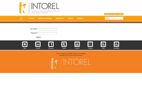 Screenshot of Trial Page intorel.com - Intorel - Fast and Reliable Systems - captured Oct. 6, 2014