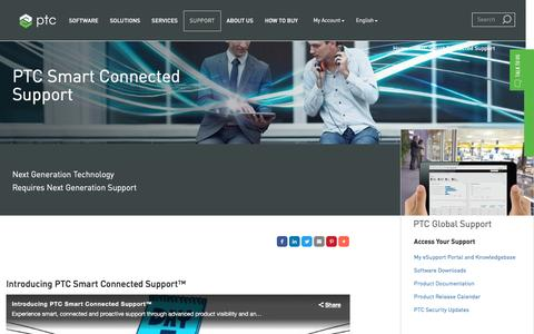 PTC Smart Connected Support | PTC
