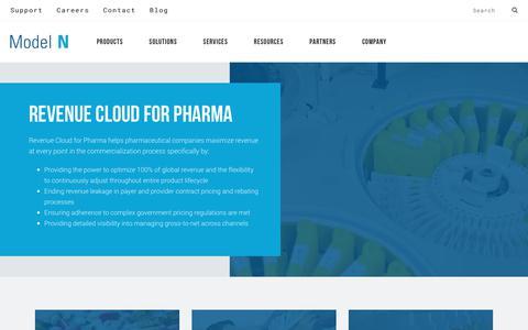 Pharmaceutical Software Solutions for Revenue Management | Model N