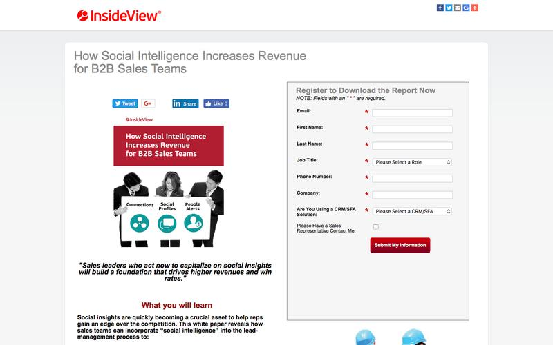 InsideView: 4 Ways to Accelerate the Revenue Cycle
