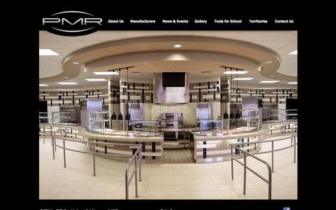 Screenshot of Home Page pmreps.com - PMR - captured Oct. 1, 2014