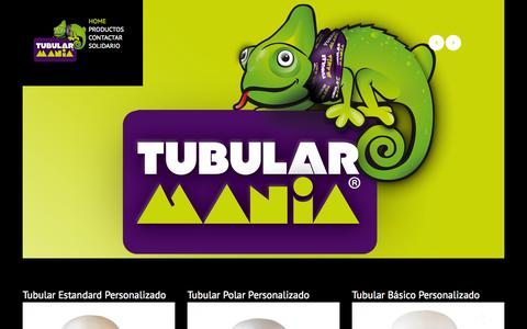Screenshot of Home Page tubularmultifuncional.com - TubularMultifuncional | - captured Oct. 9, 2014