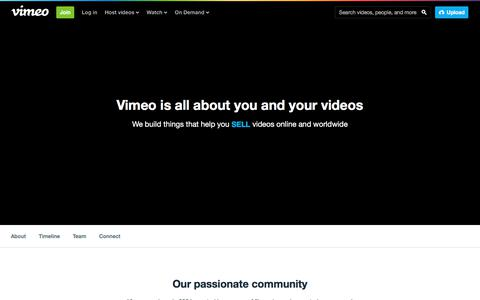 About Vimeo